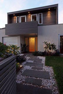 Modern Front Yard Idea