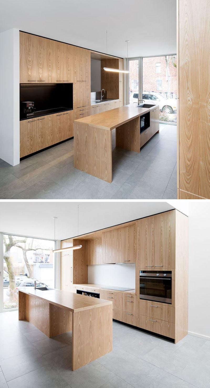 kitchen island light cabinet hinge lighting idea use one long instead of multiple pendant lights