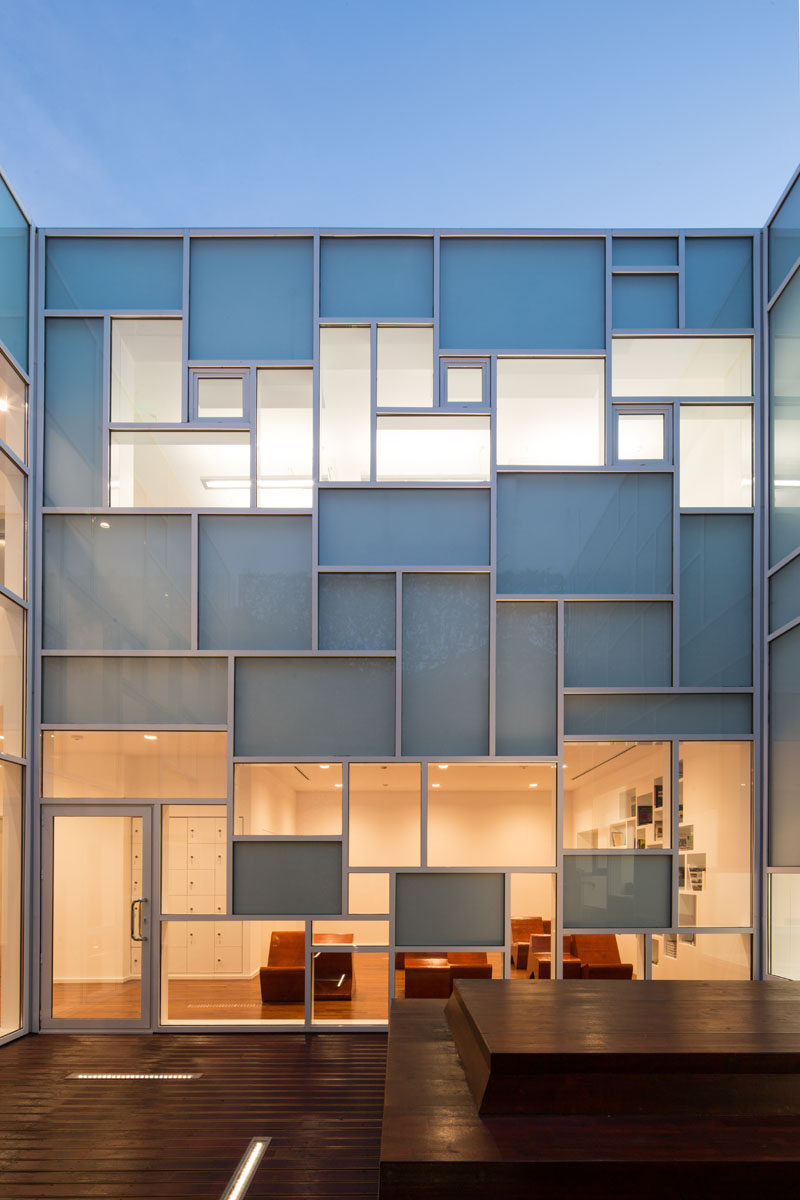 This Photography Museum Has A Mondrian Inspired Window