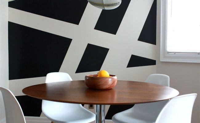 Wall Decor Idea Create A Modern Mural Using Painters
