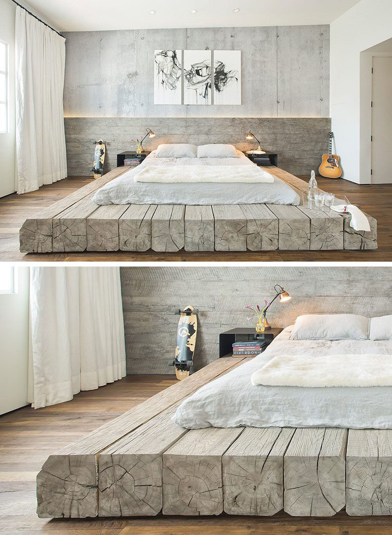 Bedroom Design Idea  Place Your Bed On A Raised Platform