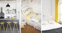 Palette Profile - Yellow, Gray, and White Interiors ...