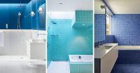 13 Inspirational Examples Of Blue And White Bathrooms ...