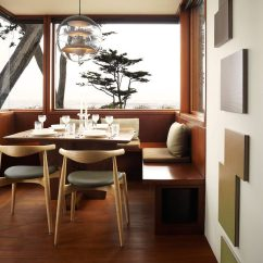 Upholstered Dining Room Chairs With Arms Chair Covers For Cheap To Buy Idea - Create A Built-in Nook (8 Pictures)   Contemporist