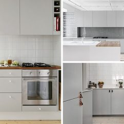 Grey Kitchen Cabinets Flat Panel 12 Examples Of Sophisticated Gray Contemporist