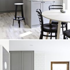 Grey Kitchen Cabinets Exhaust Fan Motor 12 Examples Of Sophisticated Gray Contemporist The Light Open