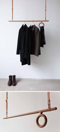 Interior Design Idea - Coat Racks That Hang From The ...