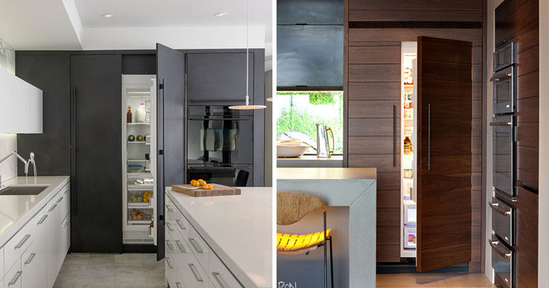 Kitchen Design Idea 10 Inspirational Examples Of Kitchens With Integrated Fridges