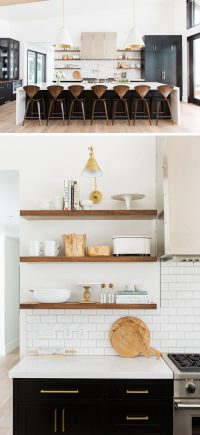 Kitchen Design Idea - 19 Examples Of Open Shelving ...