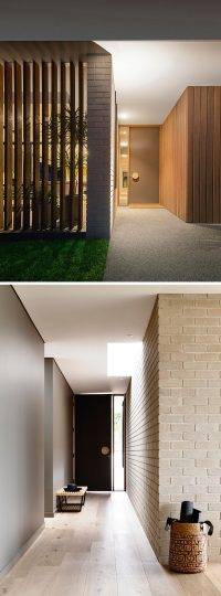 Front Door Idea - Add an oversized handle to draw ...