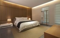 Bedroom Wall Design Idea - Create A Wood Slat Accent Wall ...