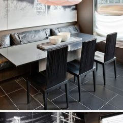 Kitchen Seat Cushions Tile Floor Dining Room Design Idea - Use Built-in Banquette Seating ...