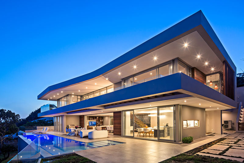 This New Home Was Designed To Capture 180 Panoramic Sea