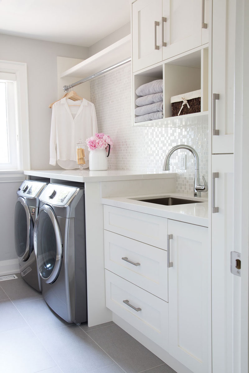 7 Ideas For Making Your Laundry Room More Organized  CONTEMPORIST