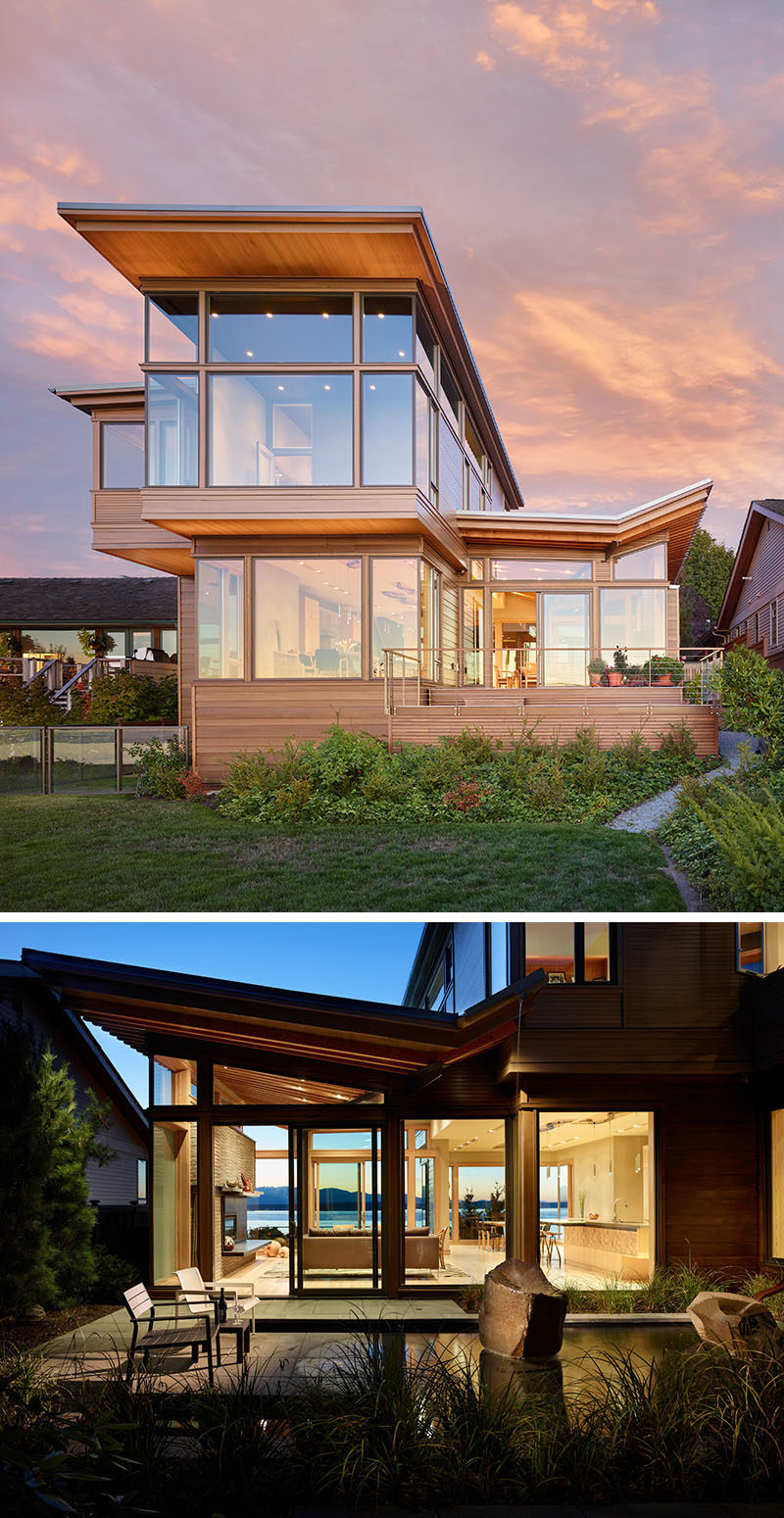 Best Kitchen Gallery: 20 Awesome Ex Les Of Pacific Northwest Architecture Contemporist of Pacific Northwest Style Homes on rachelxblog.com