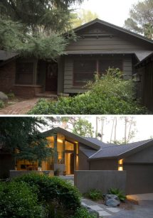 House Exterior Remodel Before After