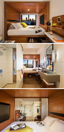 Small Hotel Room Layout