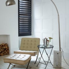 Modern Window Treatments For Living Room Small Ideas In Mumbai 7 Contemporary Coverings Contemporist Louvers Are A Combination Of Shutters And Venetian