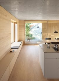 Interior Design Idea - Add a low cabinet along a wall to ...