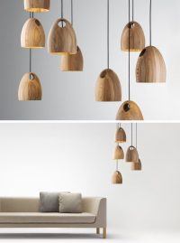 wooden pendant lights | Roselawnlutheran