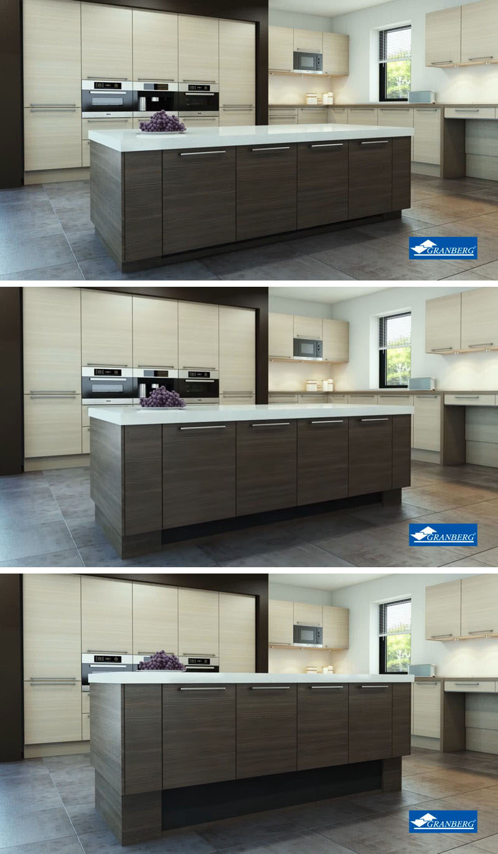 kitchen cabinets ri corner unit table design idea - adjustable height island ...