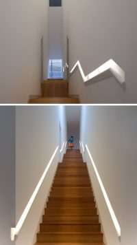 Stair Design Idea - 9 Examples Of Built-In Handrails ...