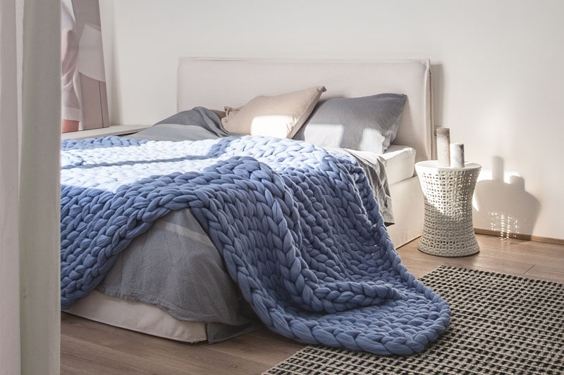 chairs for the end of your bed chair covers in bows bedroom design idea 7 ways to create a warm and cozy chunky