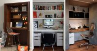 Small Apartment Design Idea - Create A Home Office In A ...