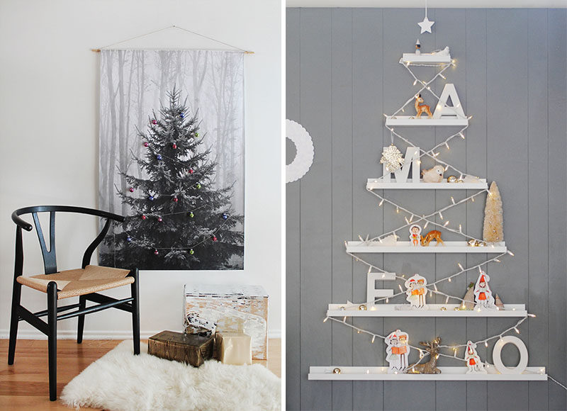 Decorate For Christmas Without A Tree