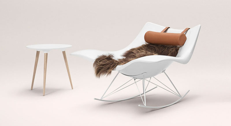 cheap modern rocking chair sams club folding chairs furniture ideas 14 awesome designs for your the polypropylene body of this