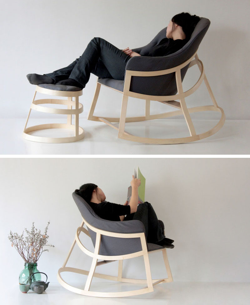 cheap modern rocking chair unfinished adirondack chairs lowes furniture ideas 14 awesome designs for your the minimal design of this makes it perfect addition to any reading corner