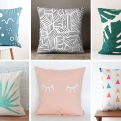 Living Room Decorative Pillows Wall Decor Ideas 2017 Home Idea Liven Up Your With Some Colorful And Fun Throw