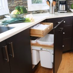 Kitchen Cabinet Pull Handles Small Island Ideas With Seating Design Idea - Hide Out Trash Bins In Your ...