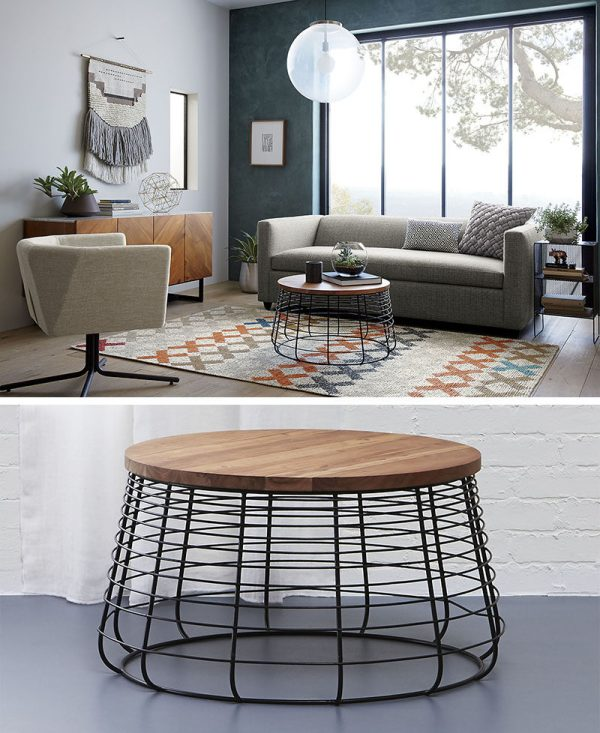Furniture Ideas - Coffee Tables In Glass Wood