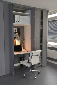 Small Apartment Design Idea - Create A Home Office In A ...