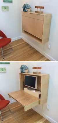 16 Wall Desk Ideas That Are Great For Small Spaces ...