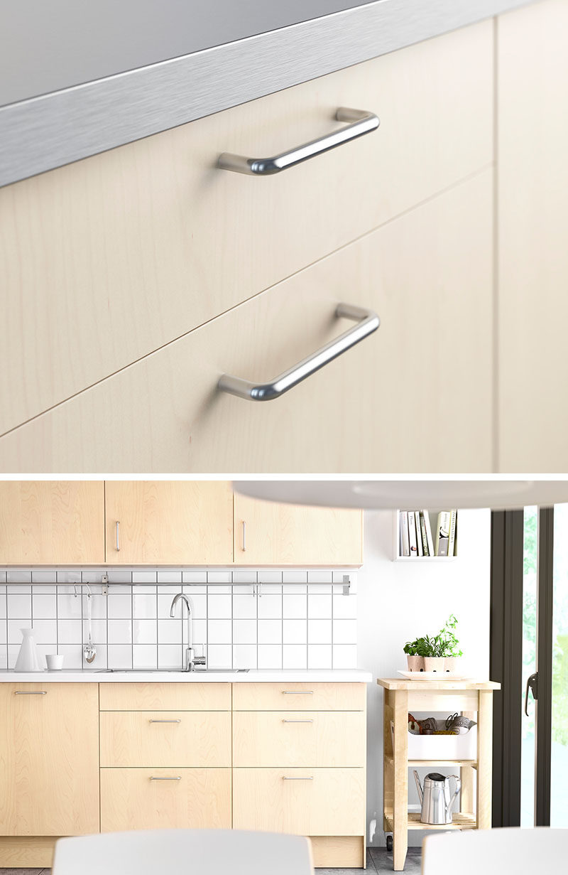 kitchen pulls commercial shelving 8 cabinet hardware ideas for your home contemporist wire