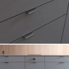 Kitchen Pulls Ways To Conserve Water In The 8 Cabinet Hardware Ideas For Your Home Contemporist Mortised