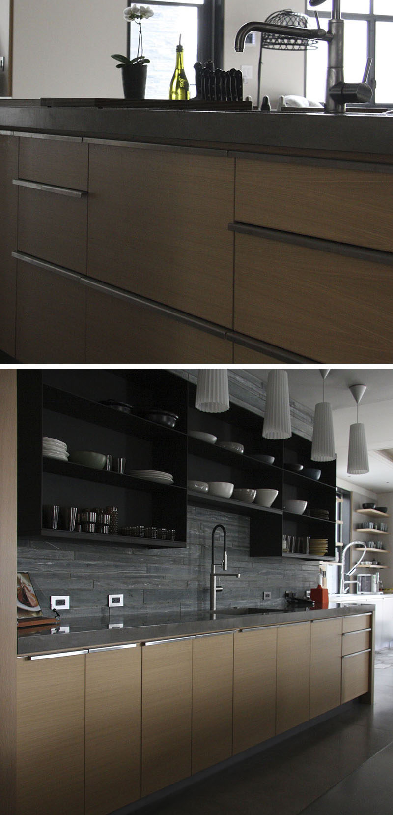 kitchen pulls custom island 8 cabinet hardware ideas for your home contemporist full length