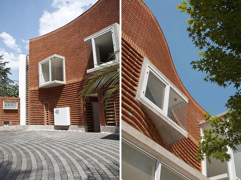 14 Modern Houses Made Of Brick CONTEMPORIST