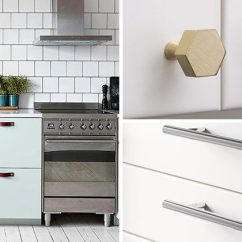 Kitchen Handles Glass Cabinets 8 Cabinet Hardware Ideas For Your Home Contemporist