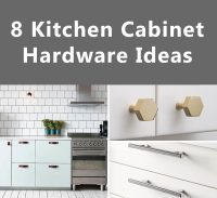 8 Kitchen Cabinet Hardware Ideas For Your Home | CONTEMPORIST