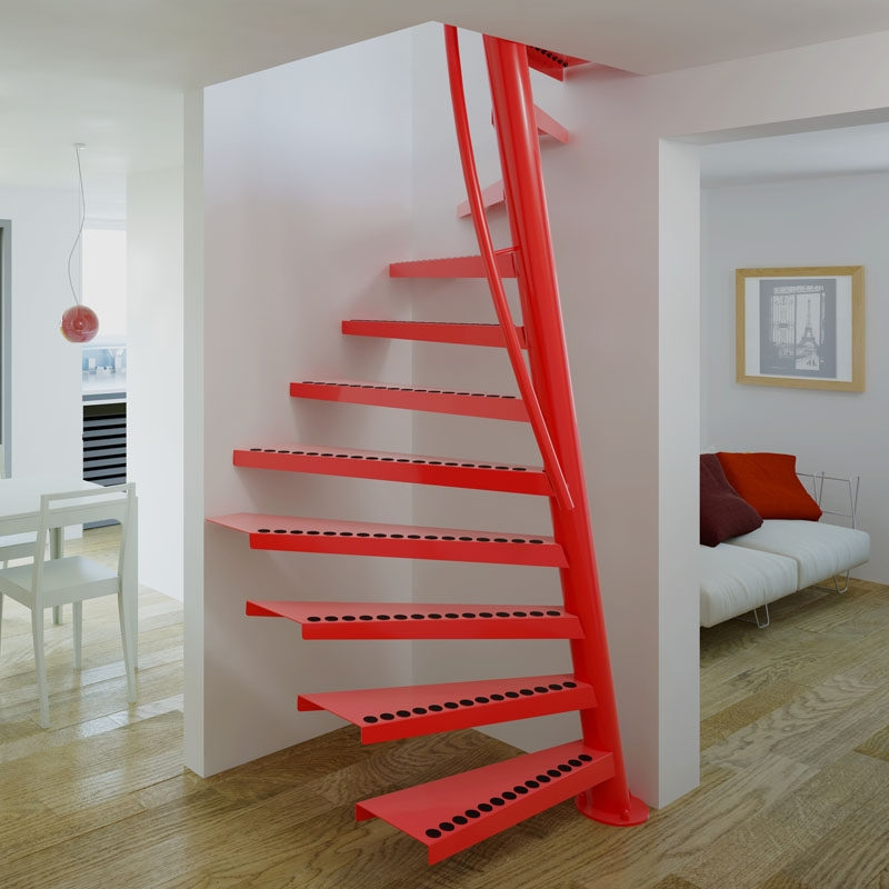 13 Stair Design Ideas For Small Spaces | Stair Plans For Small Spaces | Residential | Simple | Backyard Cottage | Fine Homebuilding | Small Opening