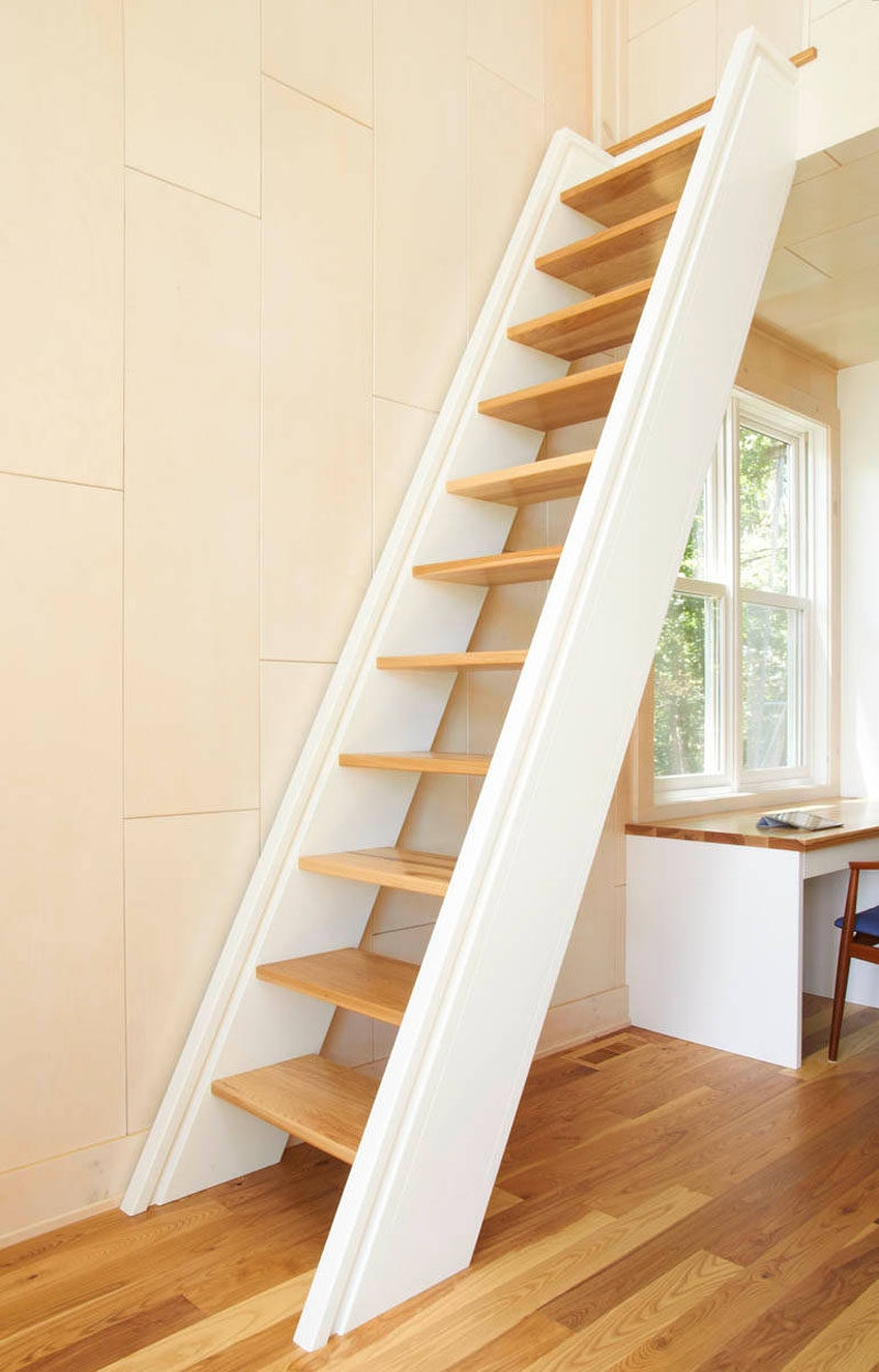 13 Stair Design Ideas For Small Spaces   Stair Designs For Small Areas   Creative   Simple   Steep Stair   Trendy   Living Room
