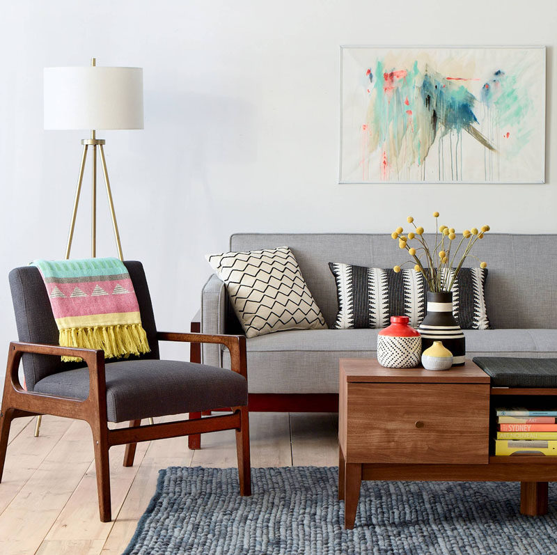 small living room with no coffee table wooden furniture images 10 decor ideas to use in your home contemporist put corners work and fill them