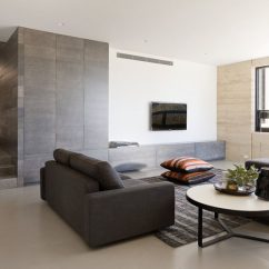 Living Room Wall Ideas With Tv For Decorating A Small Apartment 8 Design Your Contemporist The Lack Of Any Objects