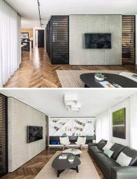 8 TV Wall Design Ideas For Your Living Room | CONTEMPORIST