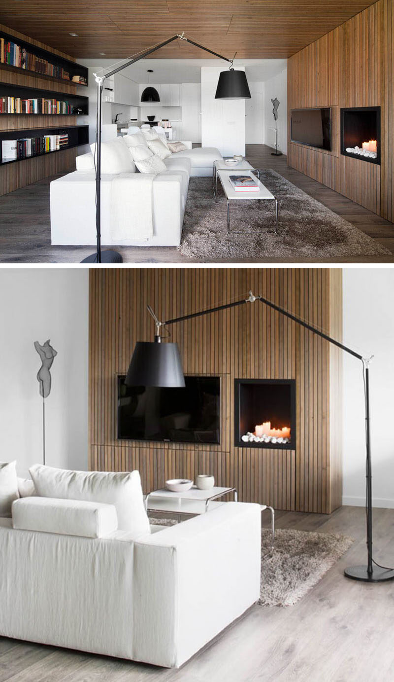 living room fireplace and tv interior design curtains for window 8 wall ideas your contemporist having next to