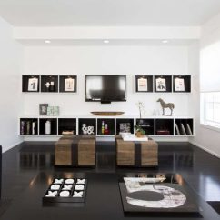 Living Room Wall Ideas With Tv White Leather Chairs 8 Design For Your Contemporist The On This