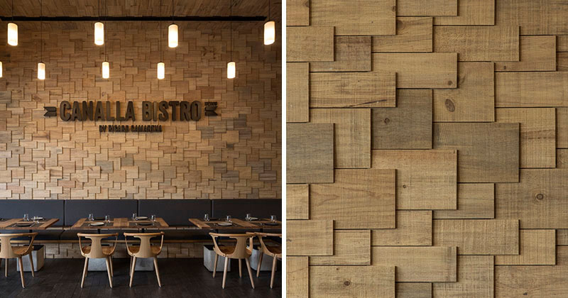 The Walls Of This Restaurant Are Covered In Wood Shingles  CONTEMPORIST